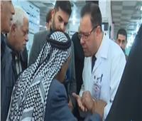 فيديو|لحظة وفاة رجل عراقي على الهواء أثناء مقابلة تلفزيونية