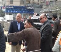 محافظ القاهرة يتفقد أعمال التطوير بجسر السويس