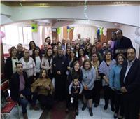الإيبارشية البطريركية تشارك باجتماع أسرة القديس يوسف بكنيسة قبة الهواء