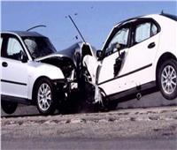 إصابات خطيرة لـ٢٢ شخصًا في تصادم مروع بين سيارتين بالشرقية
