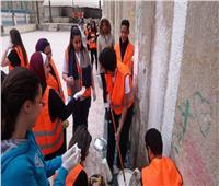 مركز شباب منشأة ناصر يحتضن المبادرة التنموية لطلاب الجامعة الألمانية