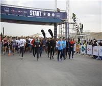 وزير الرياضة يشهد انطلاق نصف ماراثون الأهرامات بمشاركة 4000 متسابق