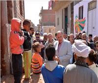 تنفيذا لمبادرة «حياة كريمة».. محافظ أسيوط يشهد انطلاق قافلة جمعية رسالة بمنفلوط