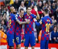 «ميسي وجريزمان» يقودان برشلونة أمام إيبار