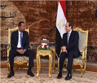 سد النهضة تصدرها.. السيسي يتسلم رسالة من رئيس وزراء إثيوبيا