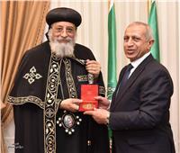 البابا تواضروس يزور الأكاديمية العربية للعلوم والتكنولوجيا