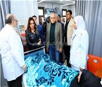 افتتاح قسم الغسيل الكلوي بمستشفى السرو بدمياط