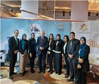 وزير التعليم العالي يتفقد جناح «ادرس في مصر» بمعرض «ايديوجيت»