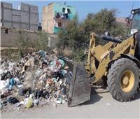 حملات مكثفة لرفع وإزالة القمامة من شوارع مدينة منفلوط بأسيوط