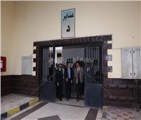 الداخلية تستقبل وفداً لعدد من مراسلى القنوات والوكالات الأجنبية في سجن المرج