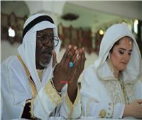 فيديو وصور| ألفا بلوندي يتزوج على «الطريقة الإسلامية»