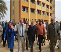 محافظ المنيا يتابع أعمال مبادرة «حياة كريمة» بمركزي مغاغة والعدوة