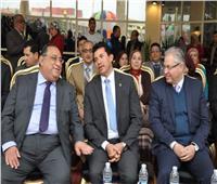 وزير الشباب يفتتح الموسم الثقافي في جامعة حلوان