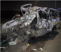 صور| عاجل.. مصرع 10 أشخاص في حادث تصادم بطريق «المعادي - المطار»