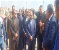 وزير التنمية المحلية يتفقد مصنع أبوخريطة لتدوير المخلفات الصلبة بالمنوفية