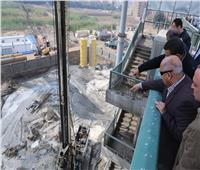 وزير النقل يتفقد أعمال التطوير والصيانة الشاملة للطريق الدائري