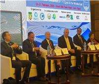 صور| وزيرا الزراعة والإنتاج الحربي يفتتحان مؤتمر أبحاث تحلية المياه