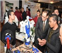 افتتاح معرض مدارس التعليم المزدوج بالشرقية