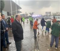 مياه الأمطار تغرق مدينة نصر.. ومحافظ القاهرة يدعمها بـ 25 شفاط
