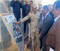 محافظ مطروح يتفقد المشروعات الخدمية بمدينة الضبعة