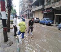 أمطار ثلجية ورياح شديدة علي مدن الشرقية