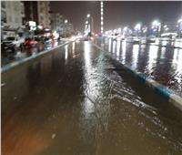 أمطار متوسطة في السويس وحركة الملاحة منتظمة بالموانئ