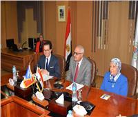 السفير الفرنسي يشيد بالتقدم المذهل لجامعة المنصورة ويؤكد على أهمية تعاون الجامعات الفرنسية معها