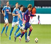 بث مباشر| مباراة نابولي وبرشلونة في دوري الأبطال