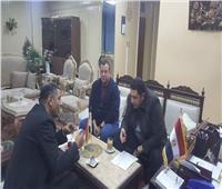 نائب محافظ القاهرة يلتقي أعضاء مجلس النواب لاستماع مشاكلهم