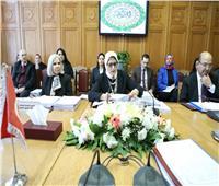 هالة زايد: الرعاية الصحية حق للجميع.. والدول العربية تسعى لتحقيق ذلك