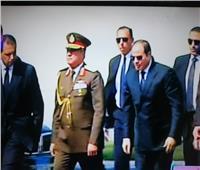 جنازة مبارك| بدء تشييع جثمان الرئيس الأسبق