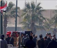 """البابا تواضروس يشارك في مراسم تشيع جثمان """"مبارك"""""""