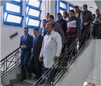 صور| محافظ الإسكندرية يحيل طاقم استقبال الطوارئ بمستشفى القباري للتحقيق