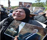 أبرز المشاهد المؤثرة من جنازة الرئيس الأسبق حسني مبارك