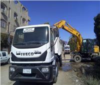رفع ٢٣٠ طن مخلفات وتراكمات قمامة من ٤ مدن بقنا