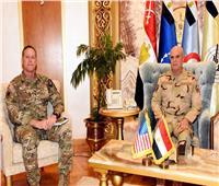 الفريق محمد فريد يلتقي قائد قيادة العمليات الخاصة المشتركة الأمريكية