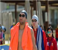 بريطانيا والنمسا يتصدران السباحة «رجال» بكأس العالم للخماسي الحديث