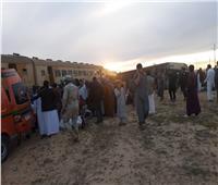 «الصحة» تعلن إصابة 38 مواطنا في حادث قطار مطروح.. ولا وفيات