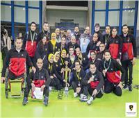صور| منتخب مصر يتوج بلقب البطولة العربية لـ«الكرة الطائرة جلوس»