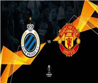 بث مباشر| مباراة مانشستر يونايتد وكلوب بروج في اليوروبا ليج