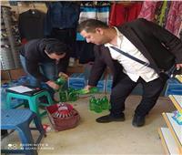 ضبط ١٥٢٠ عبوة أغذية مجهولة المصدر بجنوب سيناء