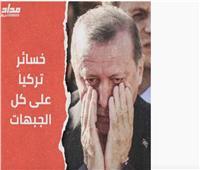 تقرير: خسائر فادحة لمرتزقة تركيا على كل الجبهات