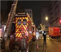 اندلاع حريق كبير بمحيط محطة قطار شهيرة في باريس