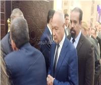ابو الغيط يقدم واجب العزاء لأسرة «مبارك»