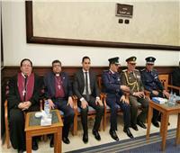 وفد رئاسة الطائفة الإنجيلية يقدم واجب العزاء لأسرة مبارك
