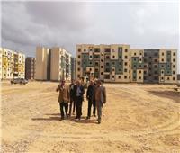 مساعد نائب رئيس«هيئة المجتمعات العمرانية» يتفقد وحدات الإسكان الاجتماعي بمدينة السادات