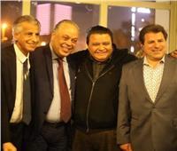 خالد جلال وأشرف زكي يفتتحان معرض «التنورة» بالهناجر