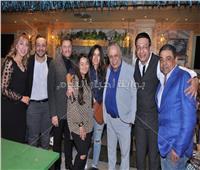 صور| نجوم الفن يحتفلون بافتتاح مطعم أشرف زكي