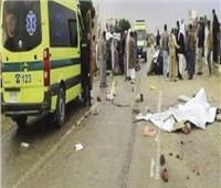 مصرع 3 أشخاص وإصابة 7 آخرين فى حادث تصادم بالمنيا