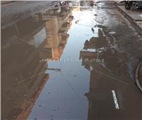 صور| أهم منطقة في طنطا تعيش في مياه الصرف الصحي